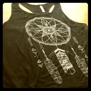 Tribal Dreamcatcher Knit Tank